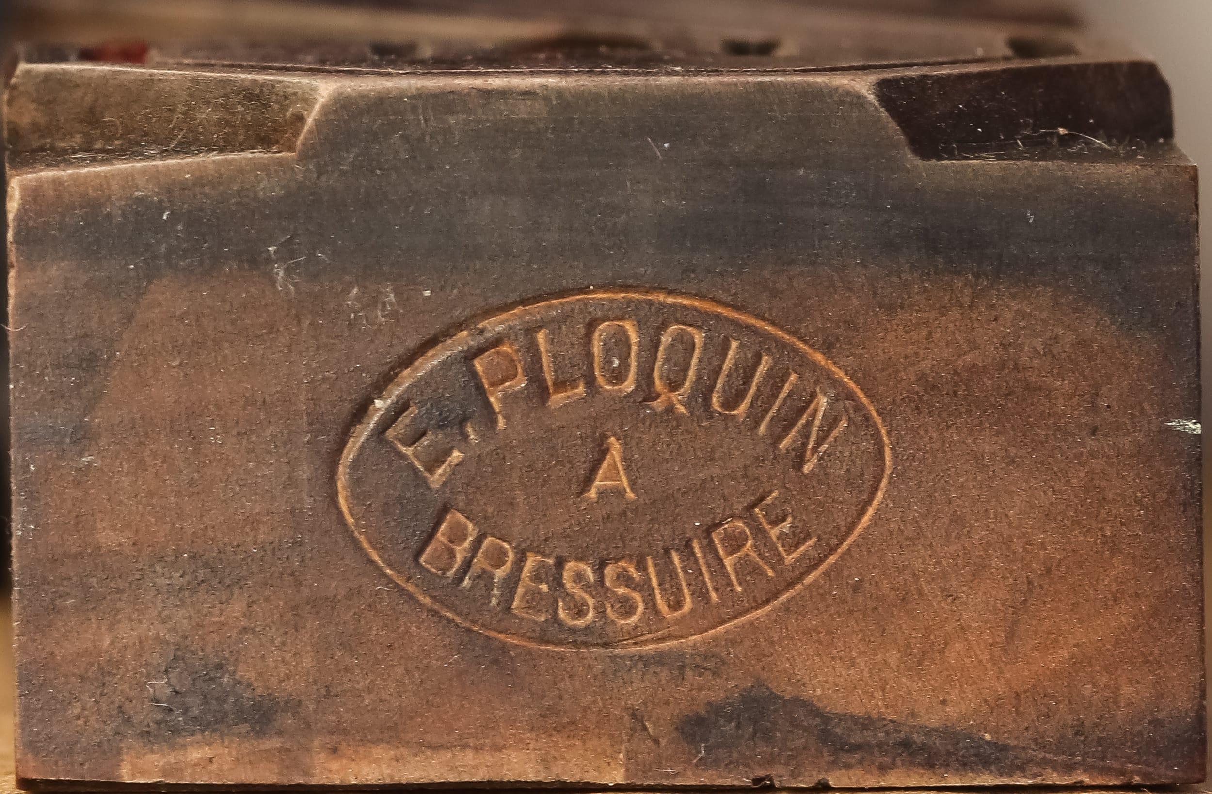 Les marques des fabricants de caractères bois
