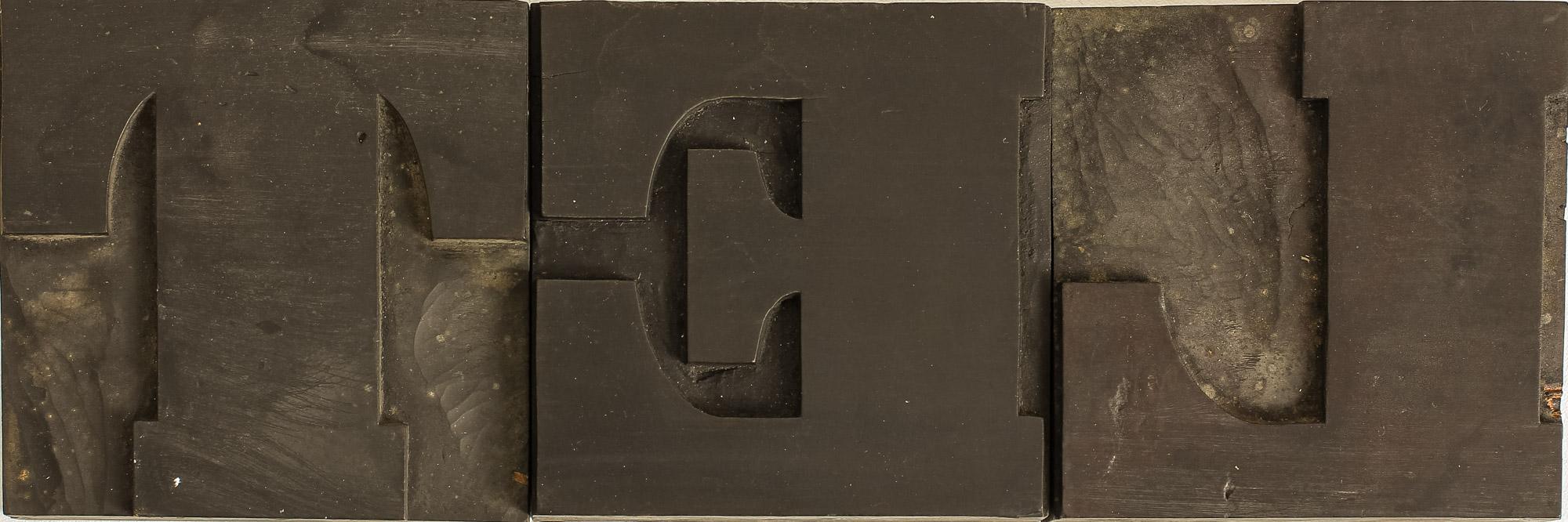 Découverte de caractères en bois d'un fabricant de Nancy en 1837.