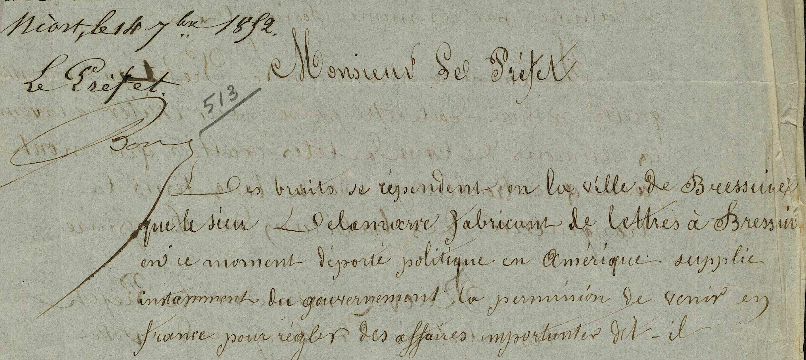 Le premier fabricant de caractères en bois de Bressuire.